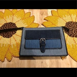Michael Kors Denim Clutch